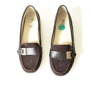 Michael Kors Suede Moccasin Loafers